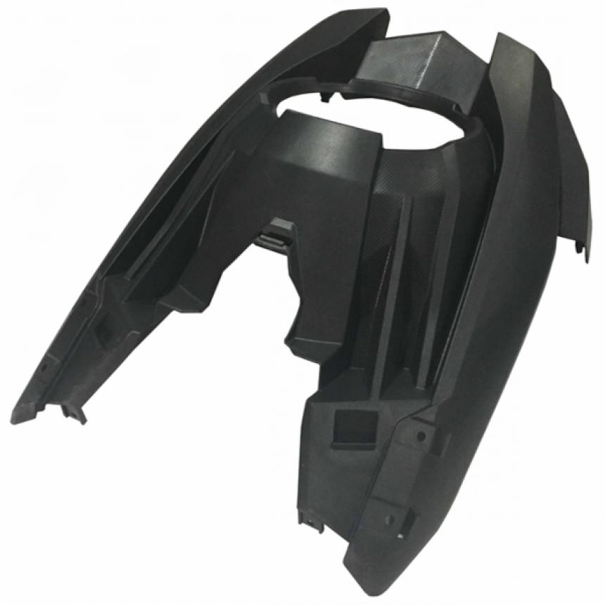 e-Scooter 2.0: Ajovaloumpion ympärillä oleva muoviosa, musta