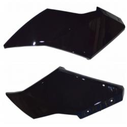 e-Scooter 2.0: Istuimen sivumuoviosa oikea/vasen, musta