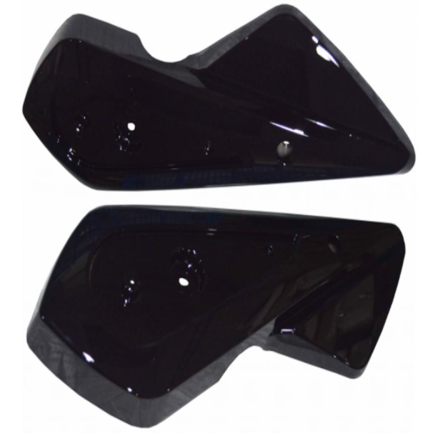 e-Scooter 2.0: Takahaarukan muoviosa oikea/vasen, musta