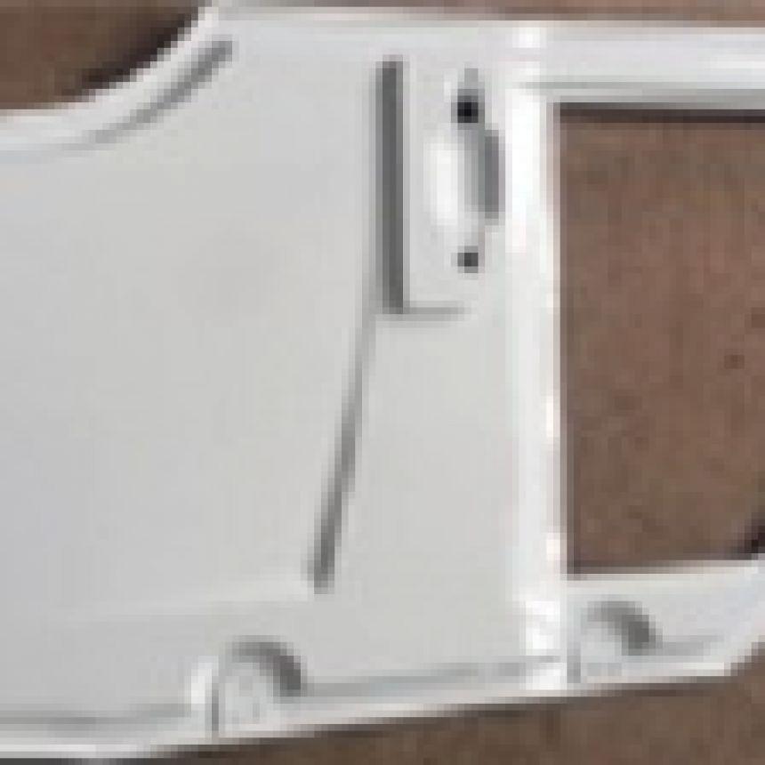 Autokruiser: Ovi oikea valkoinen