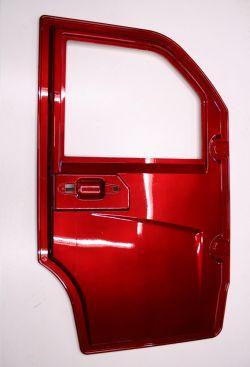 Autokruiser: Ovi oikea punainen